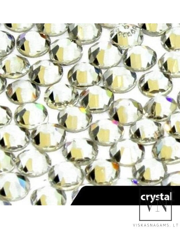 "Cirkonio akutės ""Crystal"", SS5, 50vnt./100vnt."