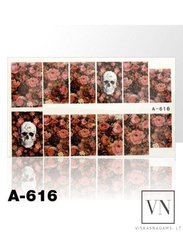 Vandeninis lipdukas NR.A-616