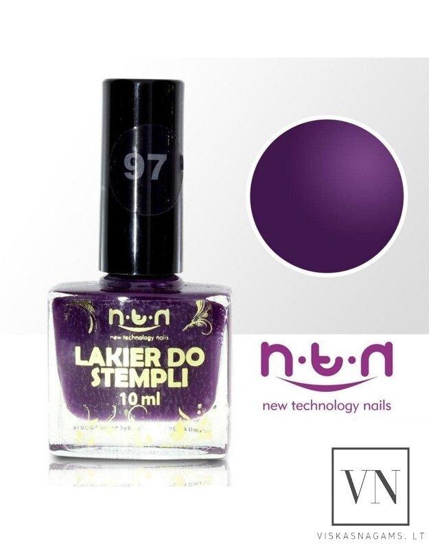"""NTN nail lacquer"" nagų lakas štampavimui , nr.97"