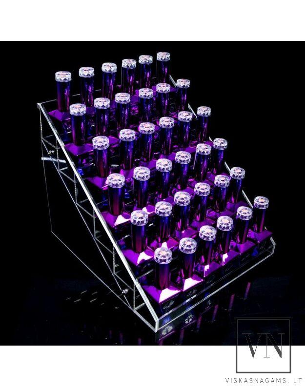 Ekspozicinis stovelis nagų lako buteliukams, Y36